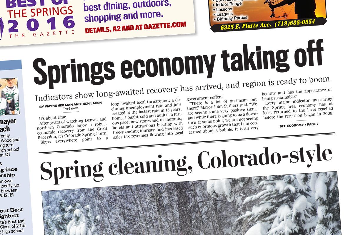 Springs Economy Taking Off