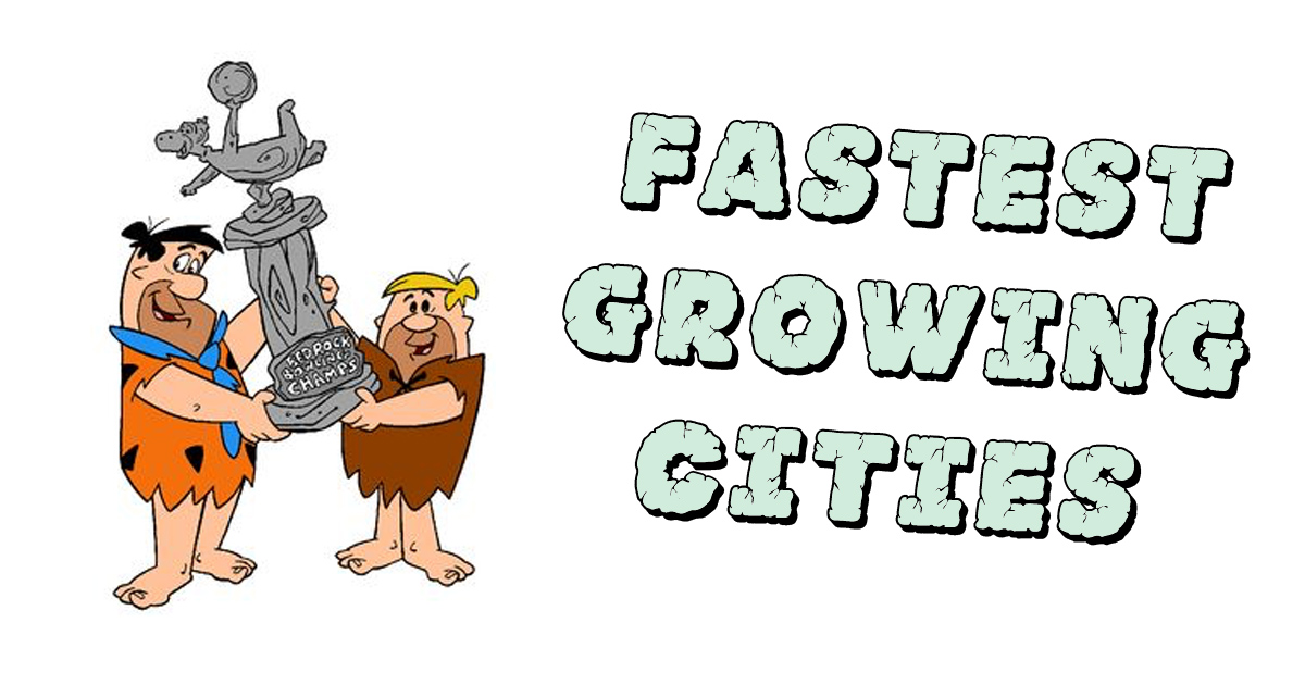 Flintstone fastest growing cities trophy